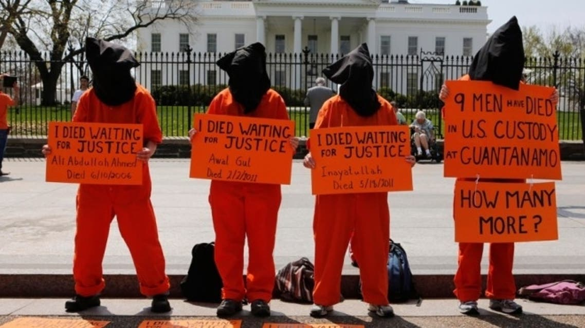 Force-feeding hunger strikers is a breach of international law, the UN's human rights office said on Wednesday. (Reuters)