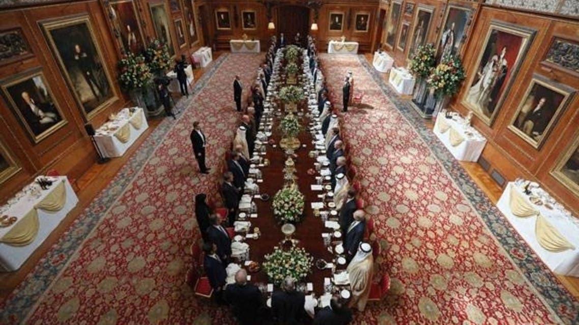 UAE's Sheikh Khalifa on historic UK visit