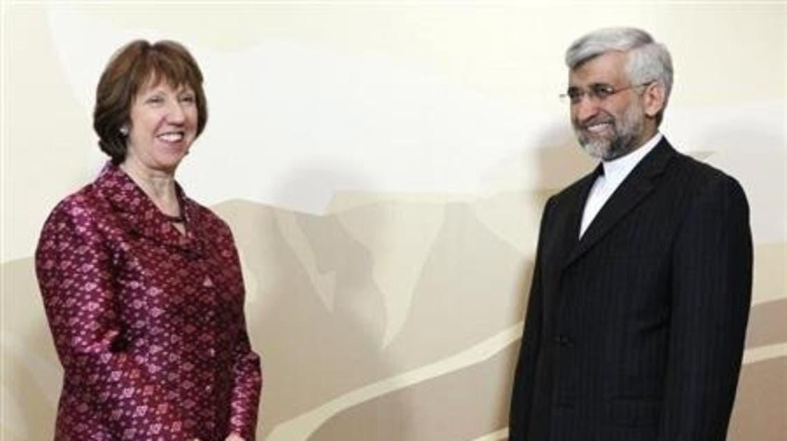 Ashton Iran Reuters