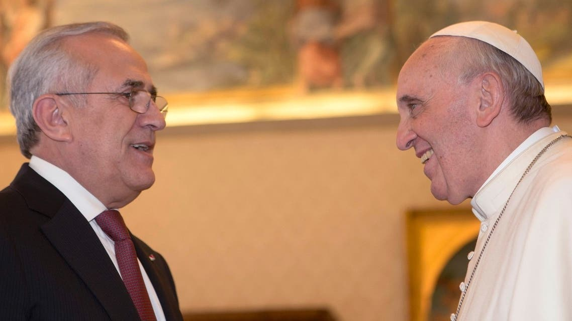 Pope Lebanon Reuters