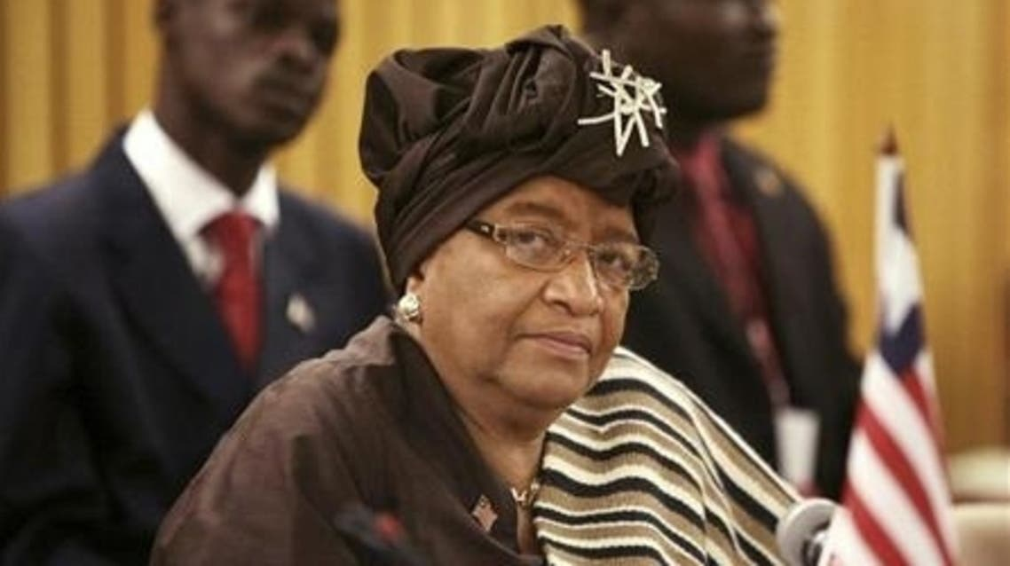 Liberia's President Ellen Johnson-Sirleaf (C) attends the African Union (AU) summit in Addis Ababa February 1, 2010. (File photo: Reuters)