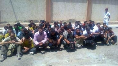 """ليبيا ترحل 191 مصريا لعدم حيازتهم """"اذن عمل"""""""