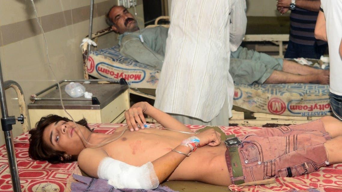 Pakistan Karachi bombing AFP