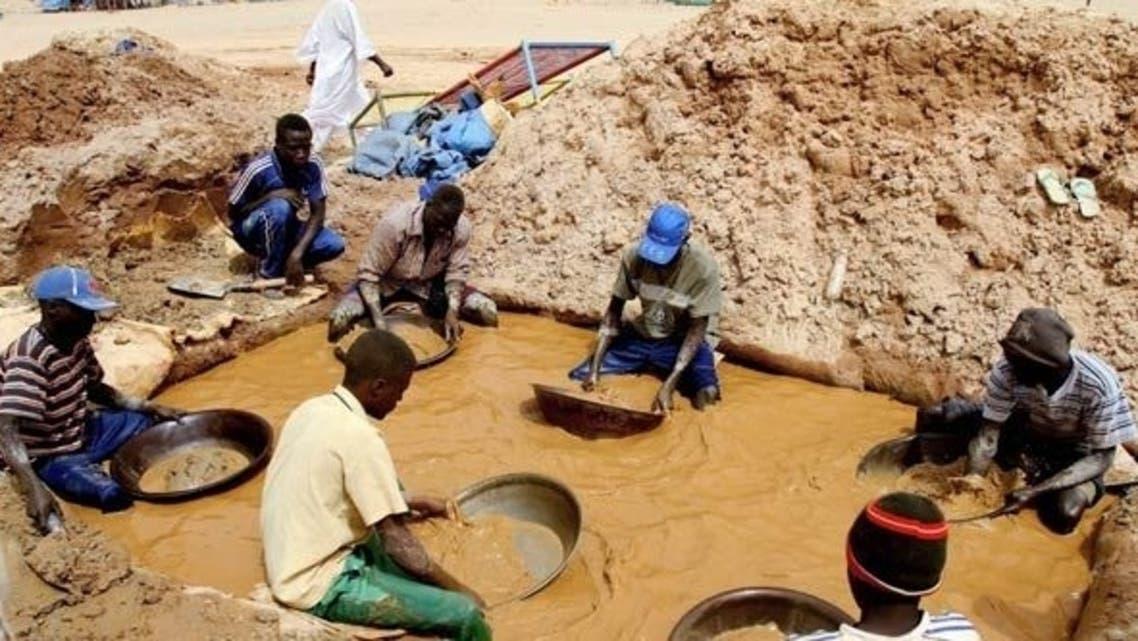 Sudan gold AFP
