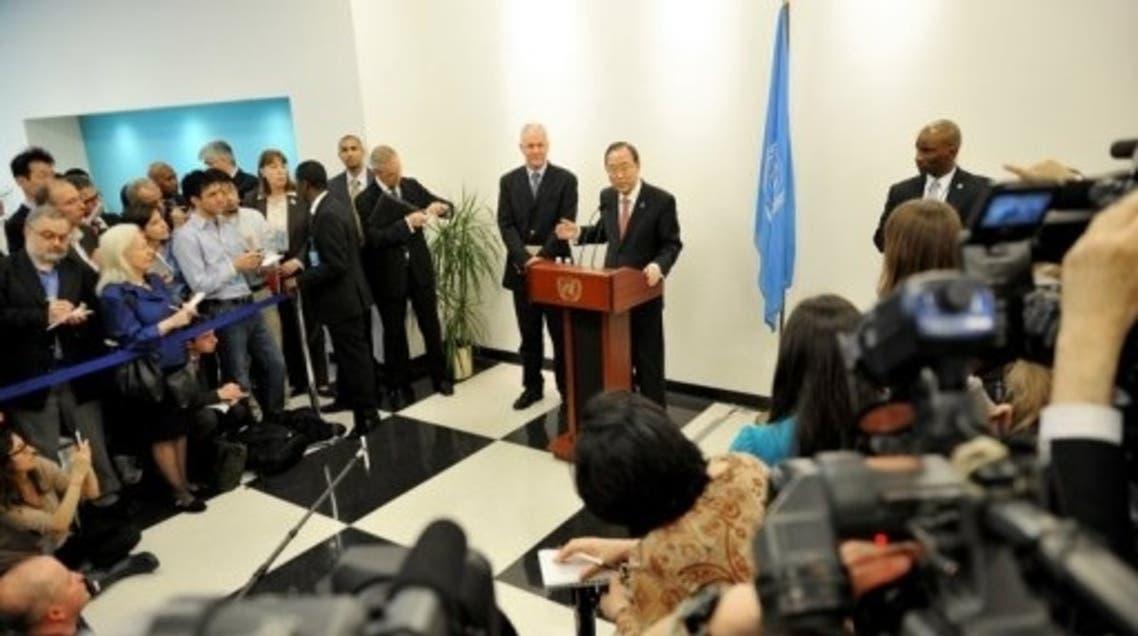 UN Ban Ki Moon AFP