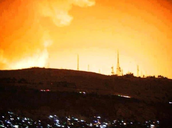 انفجارات ضخمة تهز دمشق وسط تقارير عن قصف إسرائيلي