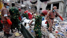 Bangladesh building-collapse toll tops 600