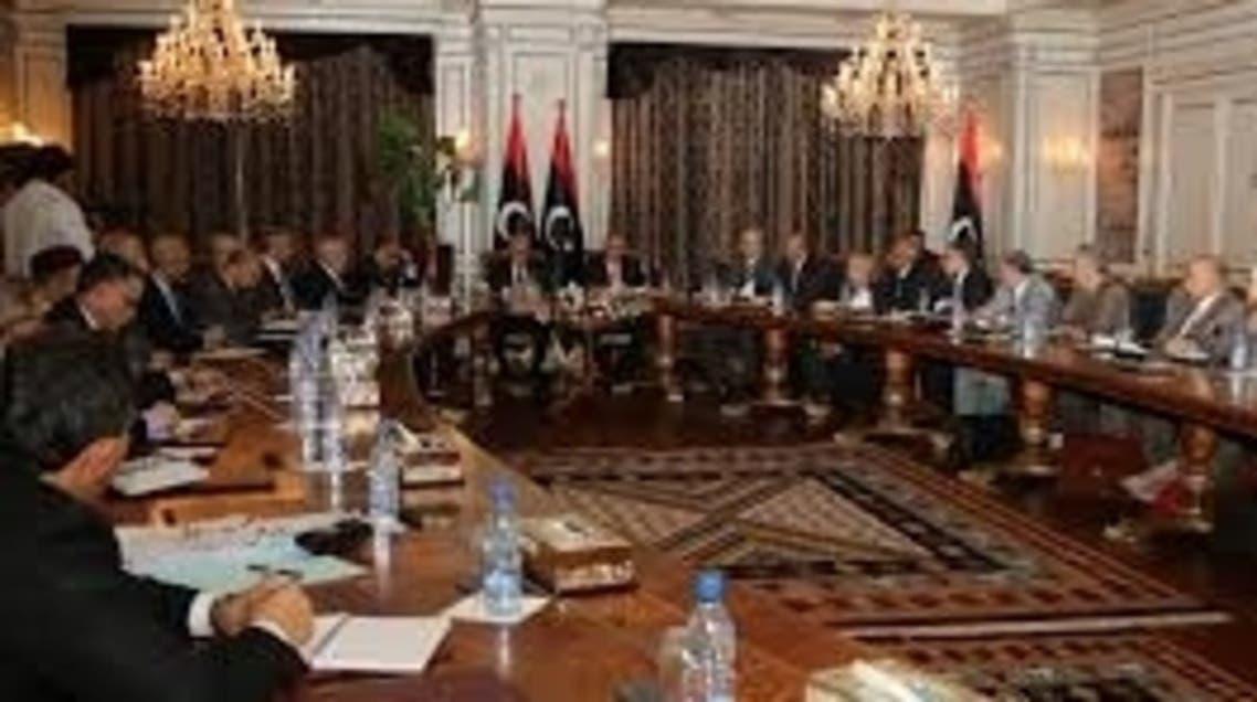 The Libyan congress meeting in November 2012. (AFP).