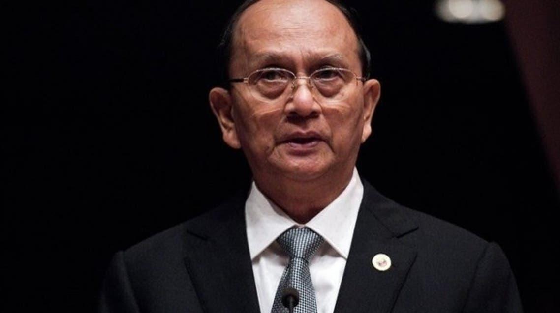 Myanmar President Thein Sein AFP