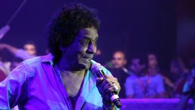 محمد منير يطمئن جمهوره على مستقبل مصر