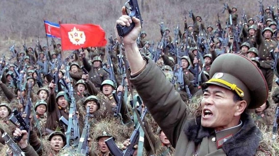 North Korea's army is 'completely ready to fight' against the South. (Courtesy: KCNA news agency)