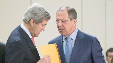كيري يلتقي بوتين ولافروف بموسكو لبحث الأزمة السورية