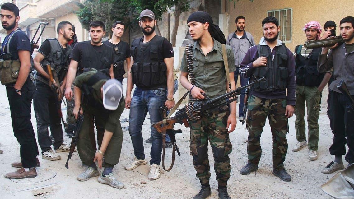 Syria rebel Reuters