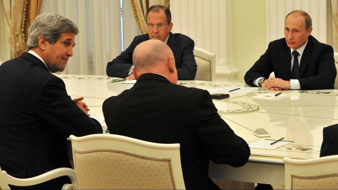 Putin Kerry AFP