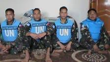 U.N. Filipino peacekeepers held by Syrian rebels 'freed,' says ministry