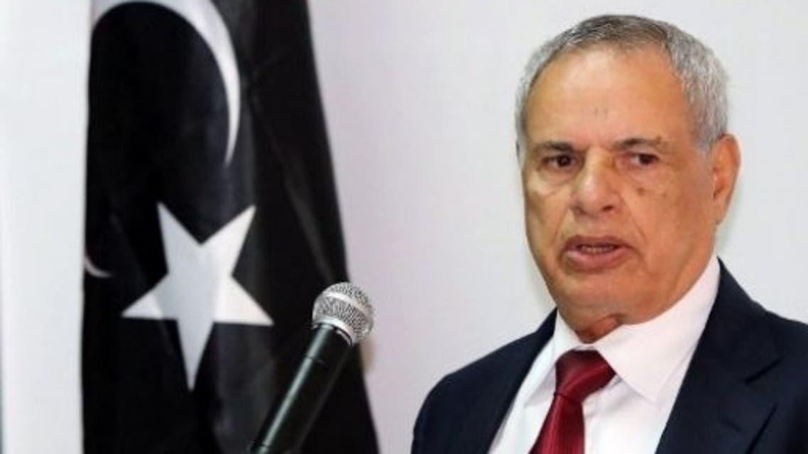 وزير الدفاع الليبي المستقيل محمد البرغثي