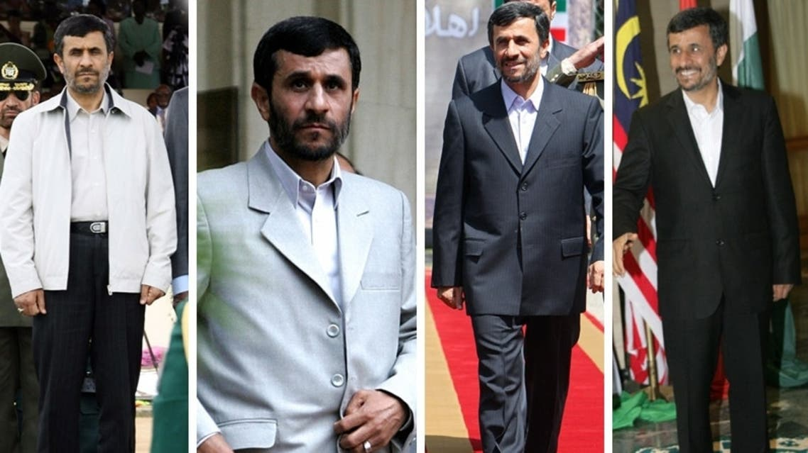"From jackets to tailored suits, Ahmadinejad's critics had complained he could be damaging the Iran's image with ""bad fashion."" (Courtesy: www.adinnerguest.com)"