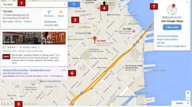 """""""جوجل"""" تعتزم إطلاق تصميم جديد كلياً لخرائطها"""
