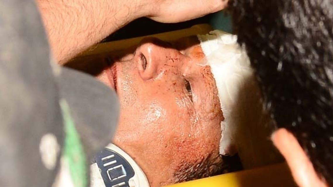 imran injured