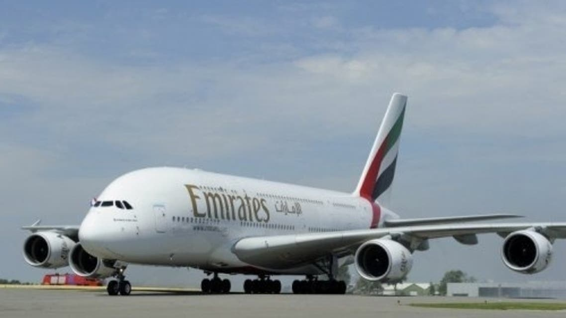 Emirates announced its 2012-2013 annual net profit recorded at $622m, marking a 52 percent boost on the previous year. (AFP)