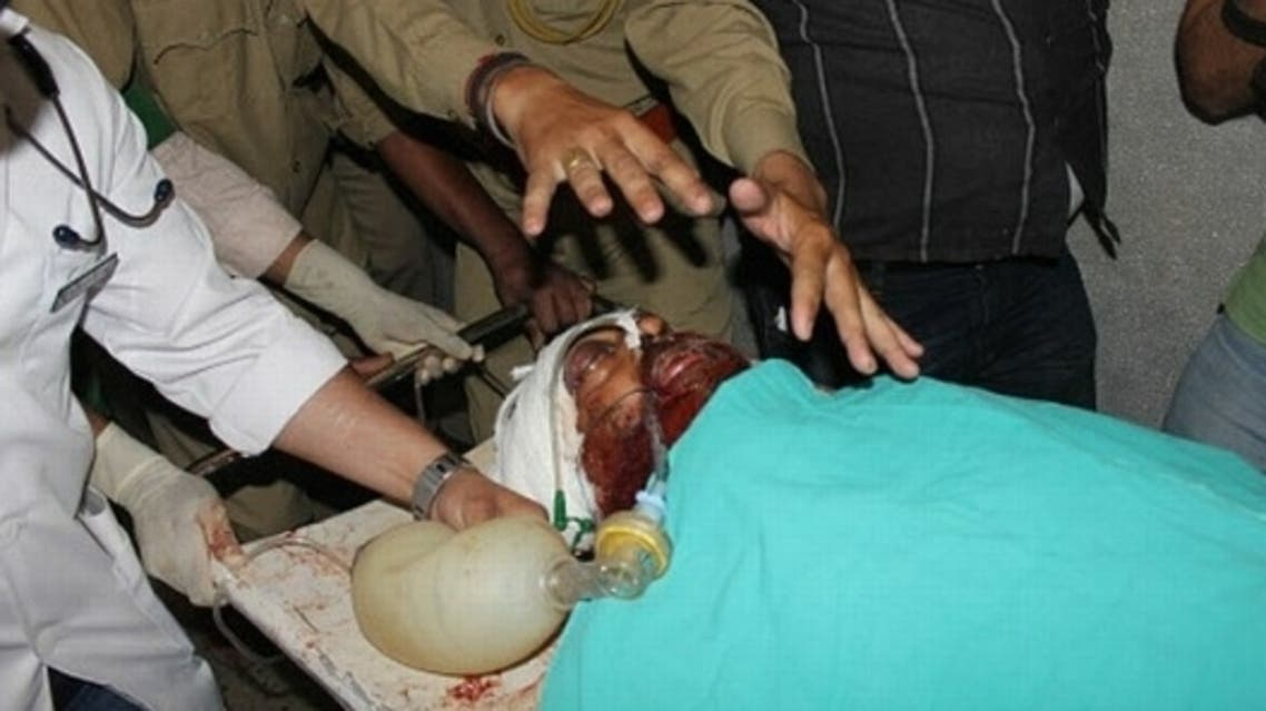 Injured Pakistani prisoner Sanaullah