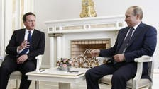 Putin, Cameron probe for Syria solution amid missile row