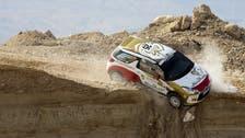 Emirati driver veers off course during Jordan motor rally