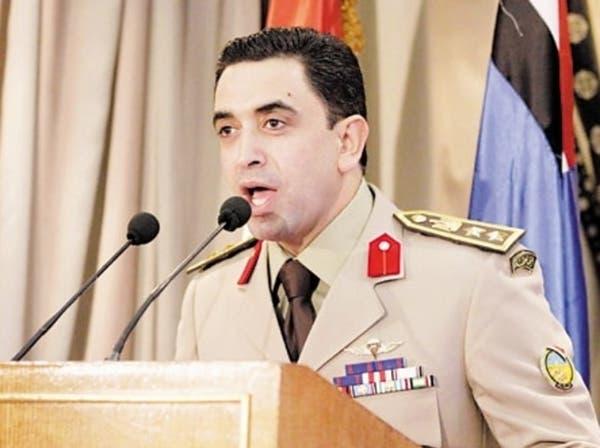 الجيش المصري: لا صحة لضغوط  من أجل عودة نظام محمد مرسي