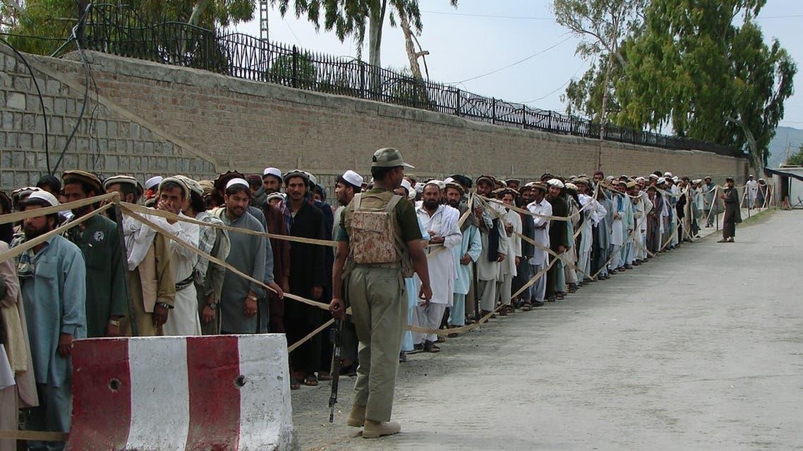 Pakistan turnout
