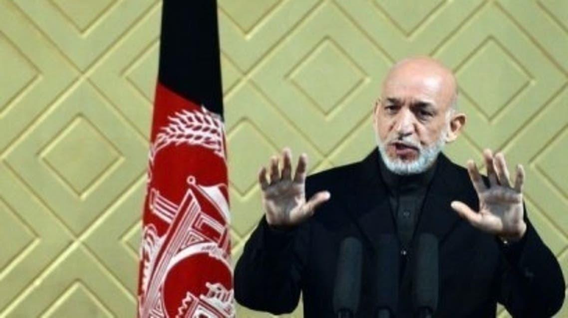 Hamid Karzai AFP