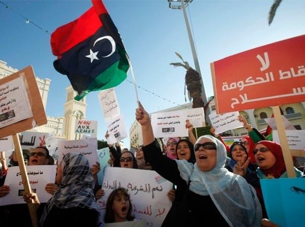 ليبيا.. حصار جديد للخارجية ومسلحون يخطفون متظاهرين