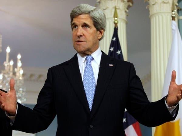 كيري: دلائل قوية على استخدام نظام الأسد أسلحة كيماوية