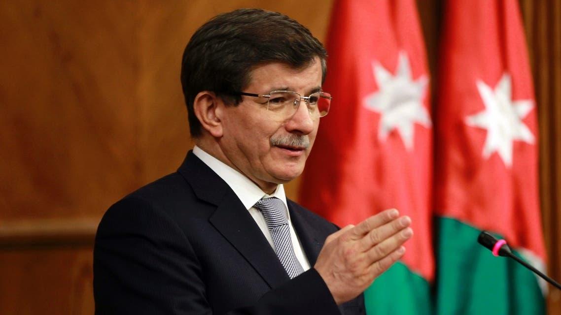 Ahmet Davutoglu Reuters