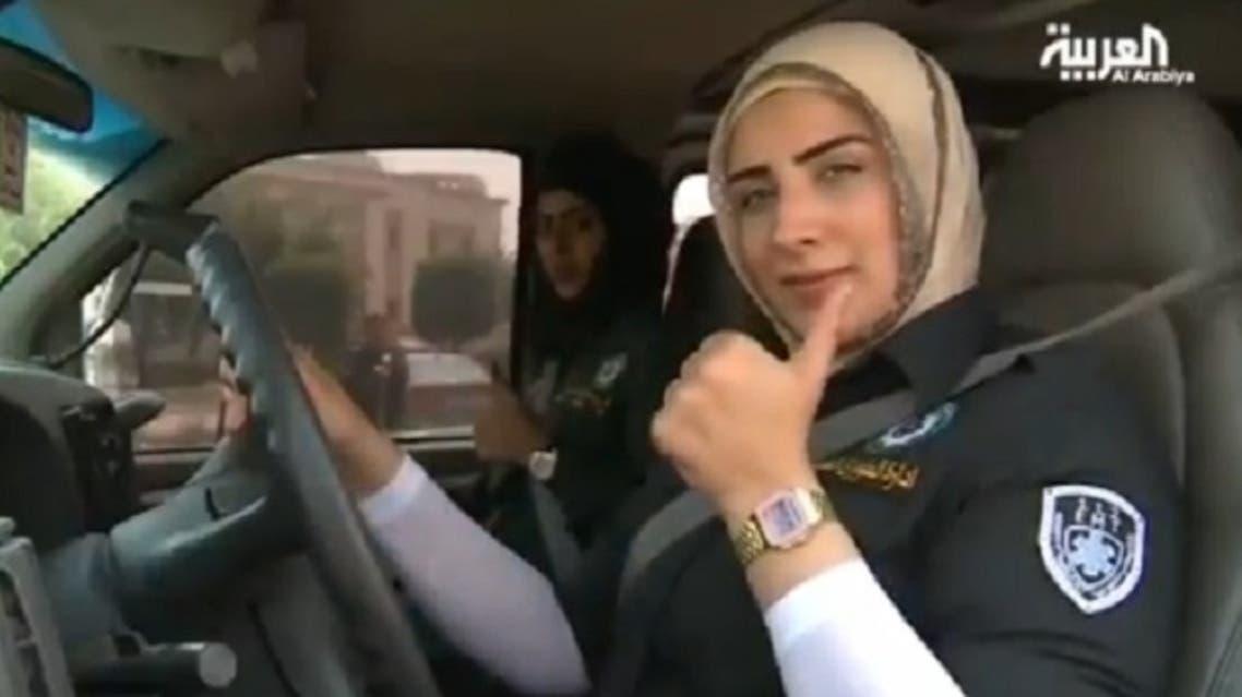 A Kuwaiti female medic told Al Arabiya that one of the medic's most important characteristics is patience. (Al Arabiya)