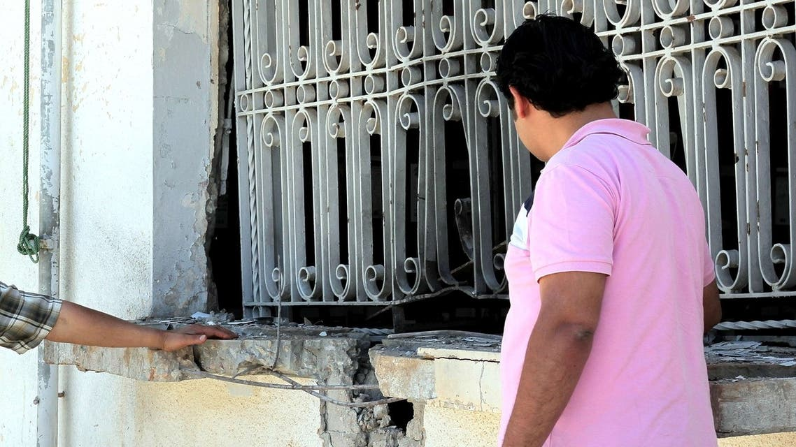 Libya Bombs AFP