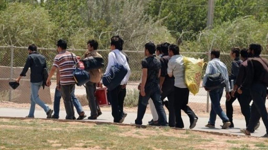 Afghan immigrants Iran AFP