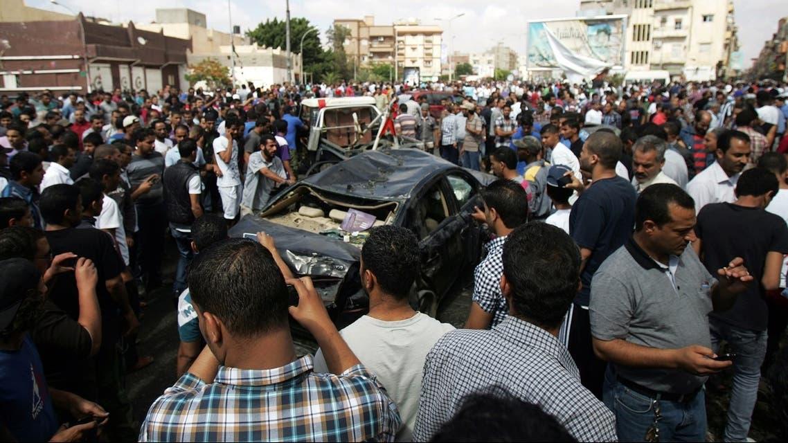 Libya car bomb