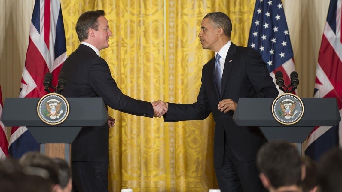 Cameron Obama AFP