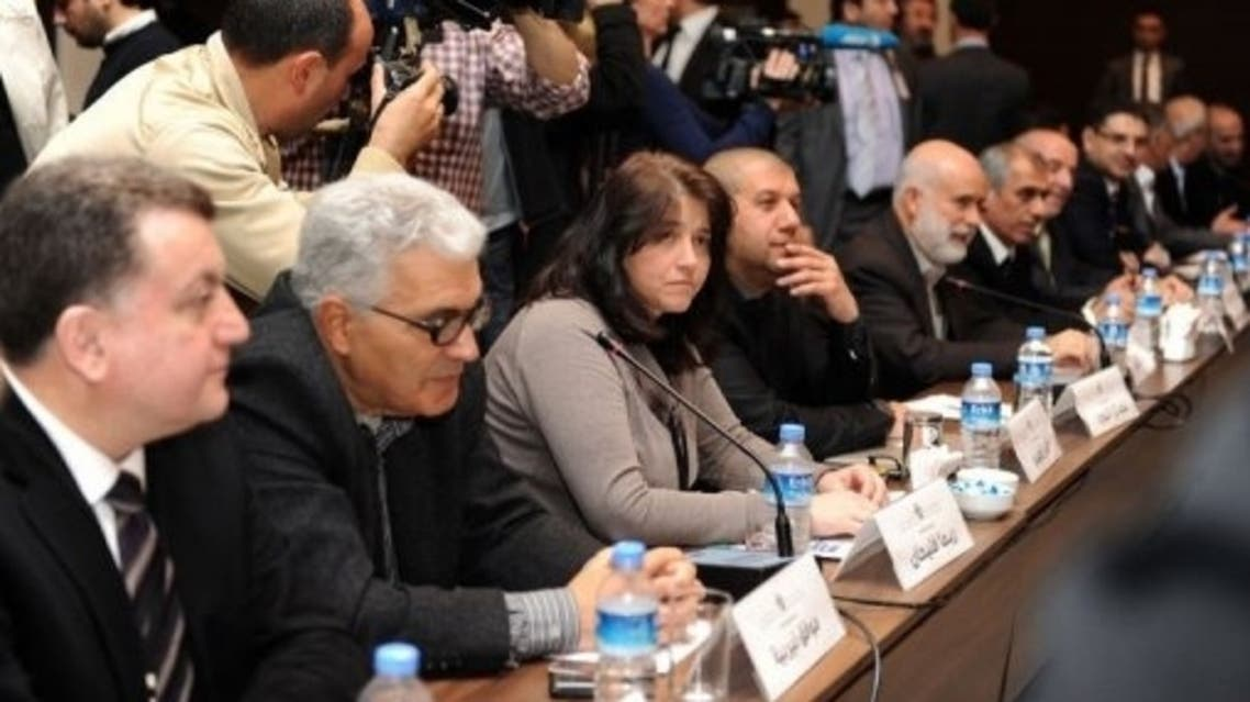 Syrian opposition AFP