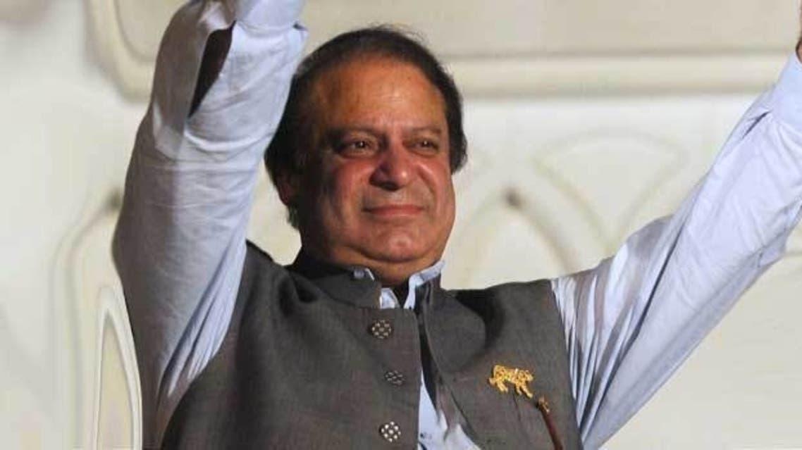 Karachi stock hit an all-time high following Nawaz Sharif's election victory. (AFP)