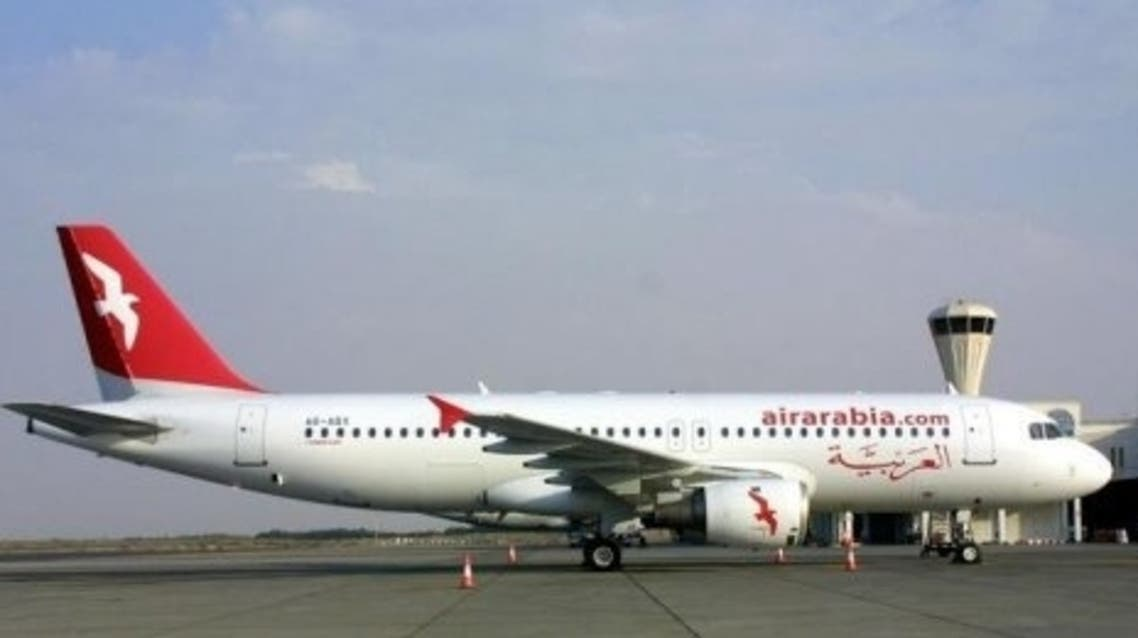 The Sharjah-based airline made a net profit of Dh59m in the first quarter of this year. (AFP)