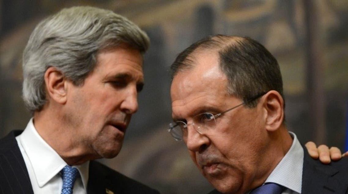 John Kerry Segei Lavrov AFP