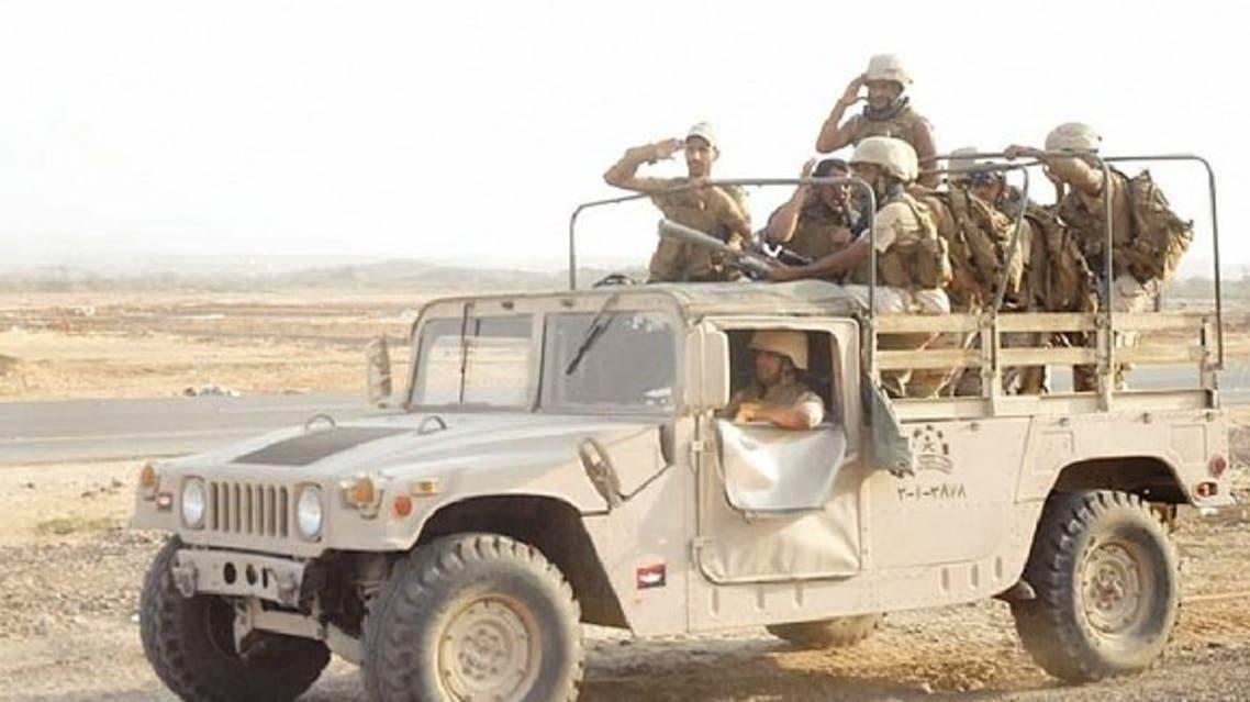 قوات سعودية في جازان