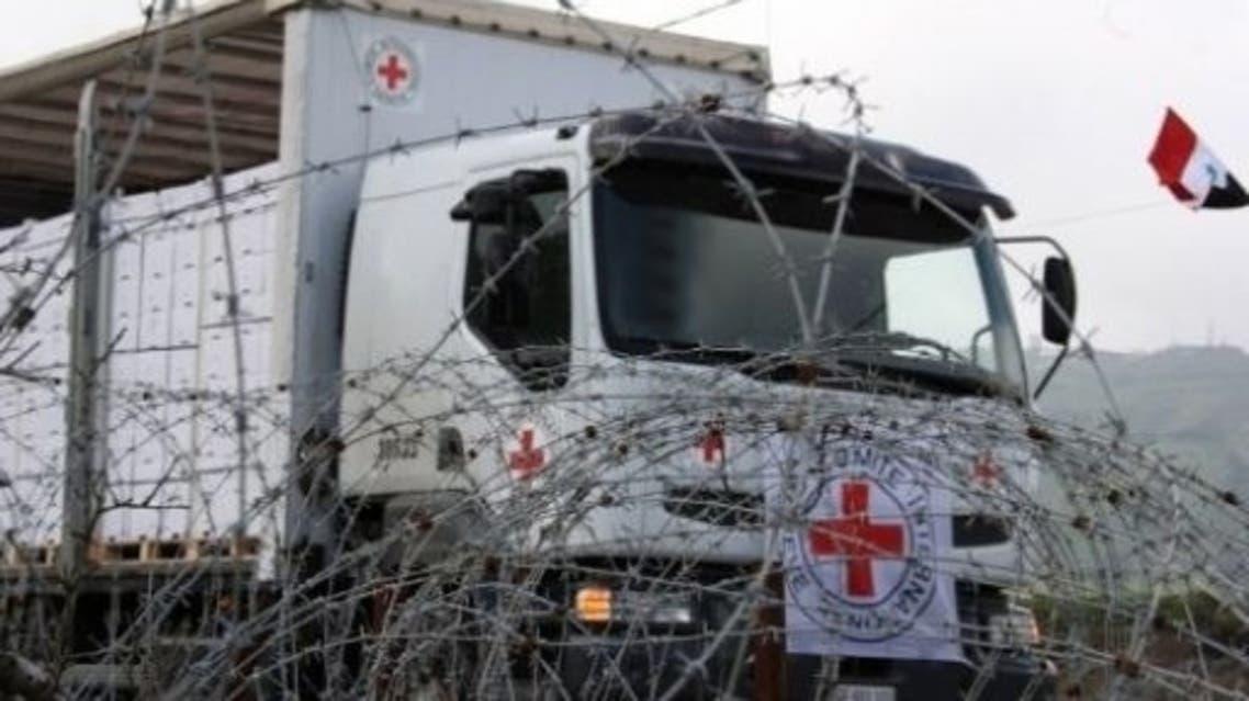 الصليب الأحمر في سوريا