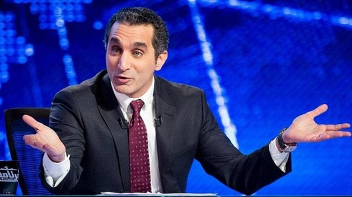 """""""It is our right to criticize,"""" Youssef said during a debate held today a'It is our right to criticize,' Youssef said during a debate at the Arab Media Forum. (Image via Facebook)"""