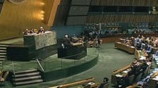 U.N. assembly slams Syrian government's 'escalation' of war