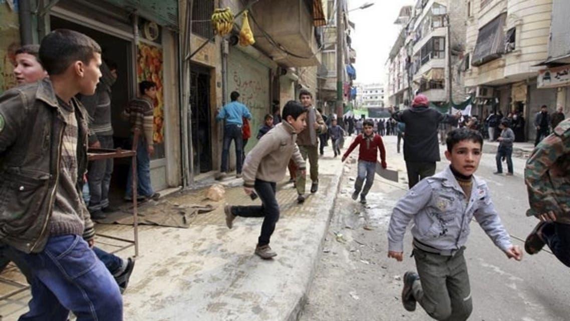 اطفال في سوريا
