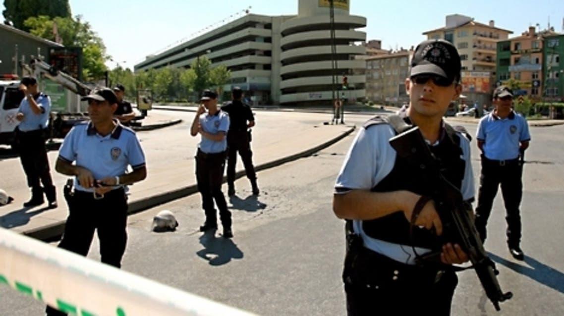 عنصار من الشرطة التركية