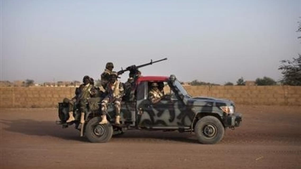 Mali soldiers Reuters