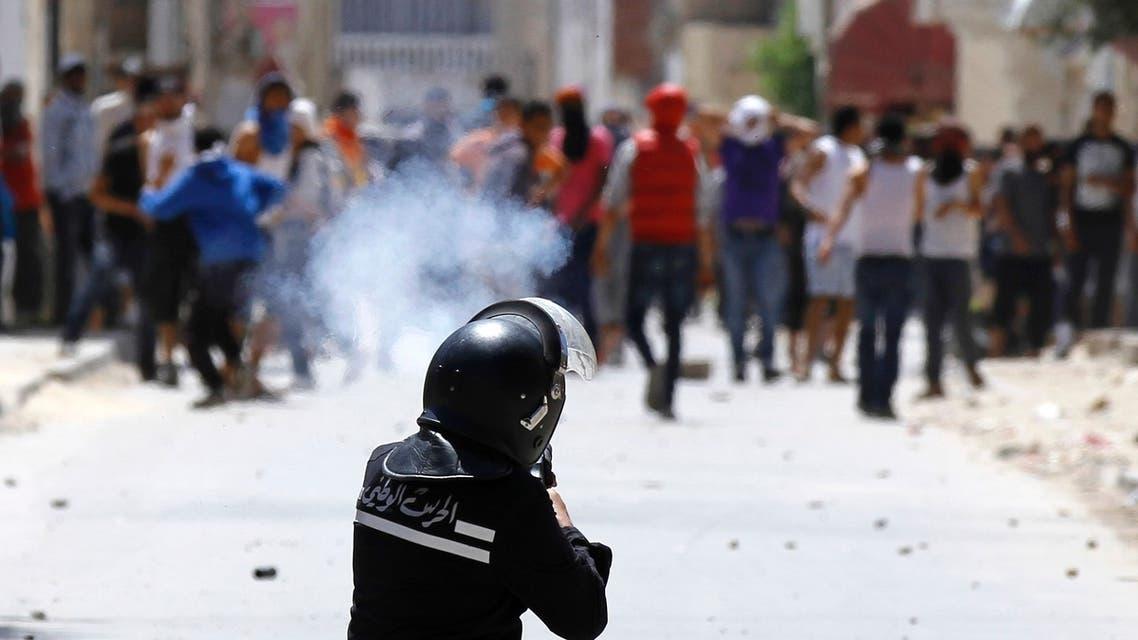 Tunisia clashes Reuters